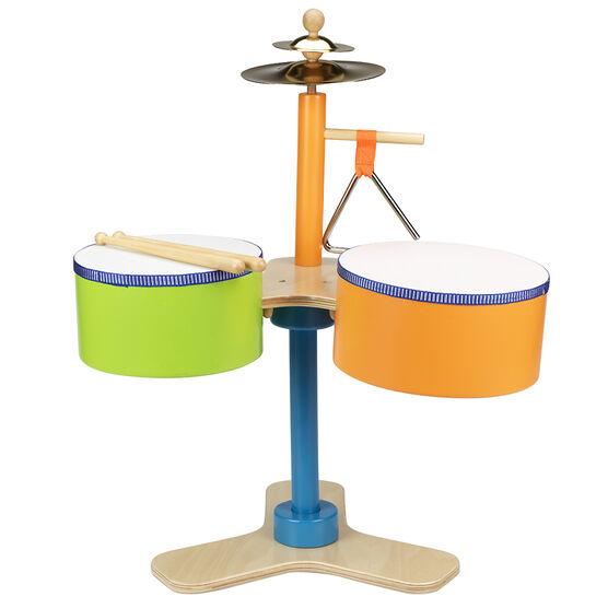 Wooden Drum Set - 4 piece