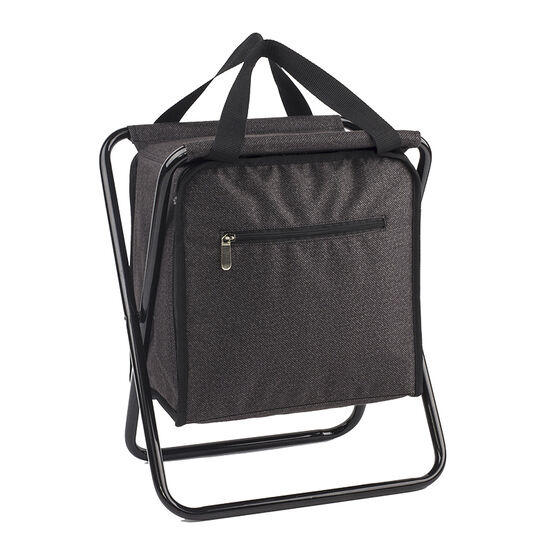 London Drugs Cooler Bag with Stool - Grey
