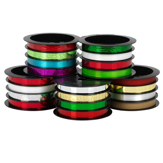 Christmas Multi-Channel Ribbon - Assorted