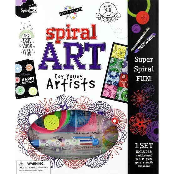 Spicebox Petit Picasso Spiral Art