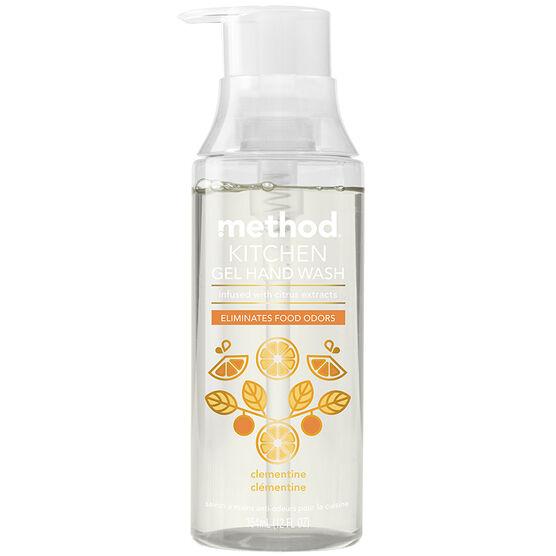Method Kitchen Gel Hand Wash - Clementine - 354ml