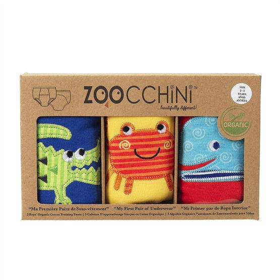 Zoocchini Organic Training Pants - Boys 2T/3T - Ocean Friends - ZOO130