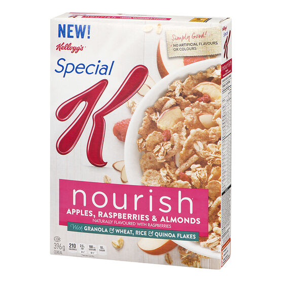 Kellogg's Special K Nourish Cereal - Apples, Raspberries & Almonds - 396g