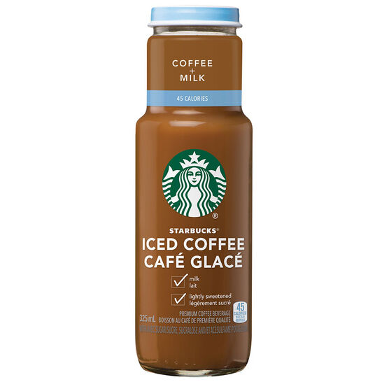 Starbucks Iced Coffee Drink - 45 Calories - 325ml