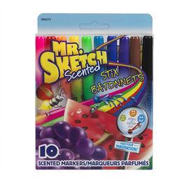 Sanford Mr. Sketch Scented Stix - 10 Pack