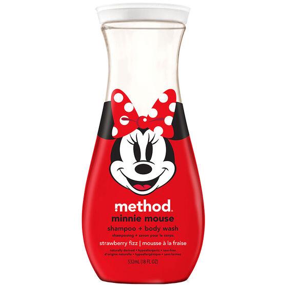 Method Minnie Mouse Body Wash - Strawberry Fizz - 532ml