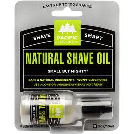 Pacific Shaving Company Natural Natural Shaving Oil - 15ml