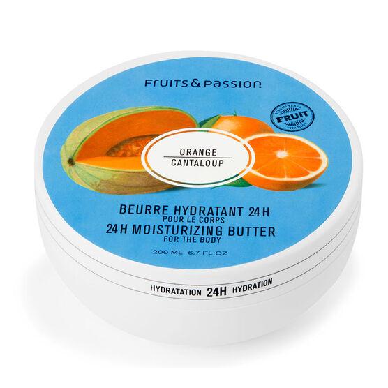 Fruit & Passion 24H Moisturizing Body Butter - Orange Cantaloupe - 200ml