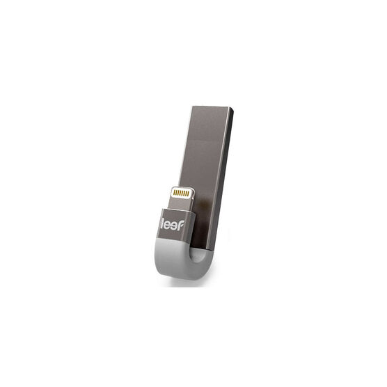 Leef iBridge 3 iOS Mobile Memory - 64GB - Silver / White - LIB300SW06 W