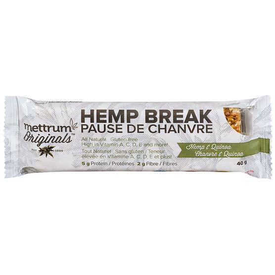 Mettrum Originals Hemp Break - Hemp & Quinoa - 40g