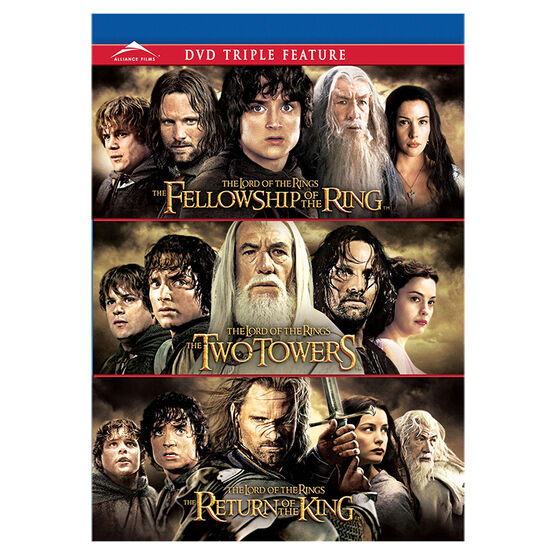 The Lord of the Rings Triple Feature - DVD