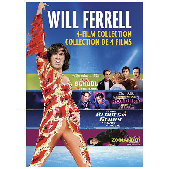 Will Ferrell 4-Film Collection - DVD