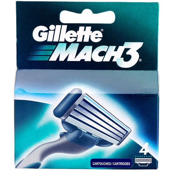 Gillette Mach 3 Blades - 4's