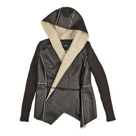 Sam Edelman Faux Sheep Jacket - Black - XS - XL