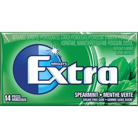 Wrigley Extra Gum - Spearmint - 14 piece