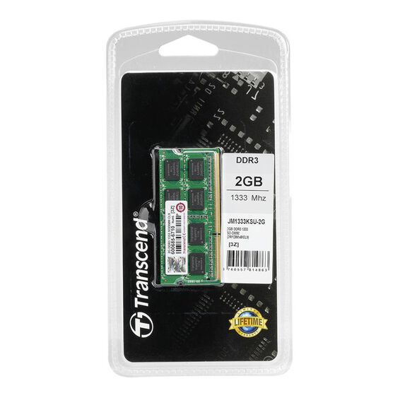 Transcend 2GB DDR3 1333 SO - JM1333KSU-2G