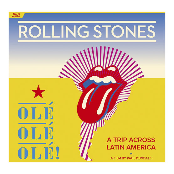 The Rolling Stones Ole Ole Ole: A Trip Across Latin America - Blu-ray
