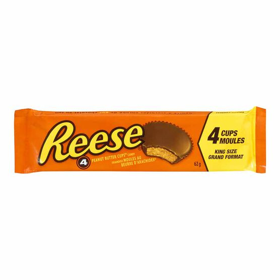 Reese Peanut Butter Cups 4 Pack - 62g