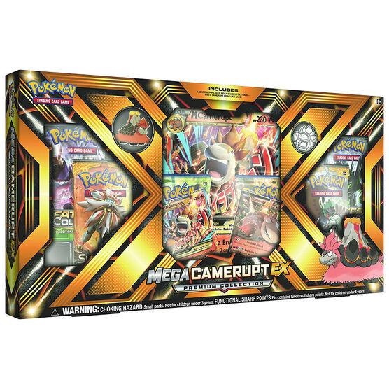 Pokémon Mega Camerupt/Sharpedo Premium Collection
