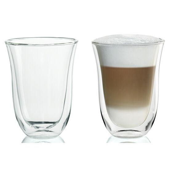 DeLonghi Latte Glasses - 2 pack