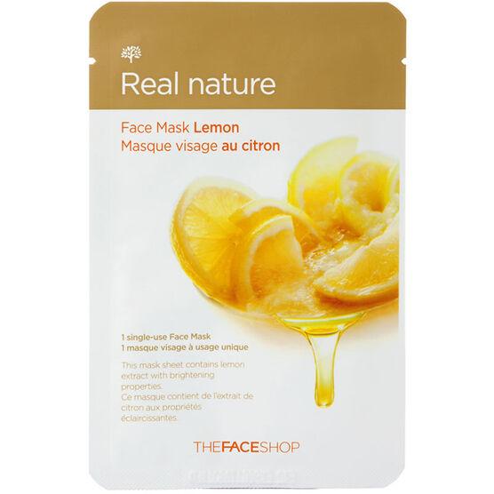 Real Nature Face Mask - Lemon - 20g