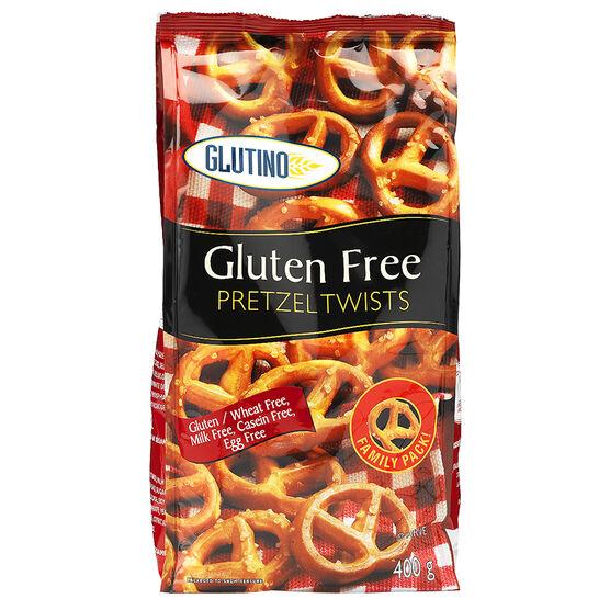 Glutino Gluten Free Pretzel Twists - 400g