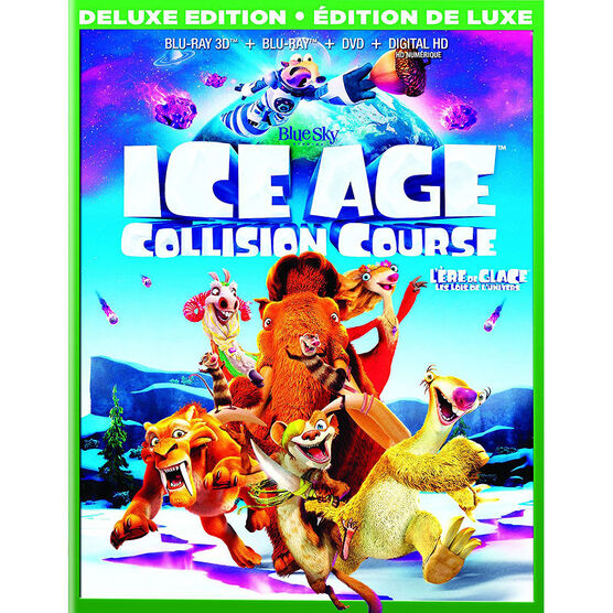 Ice Age 5: Collision Course - 3D Blu-ray