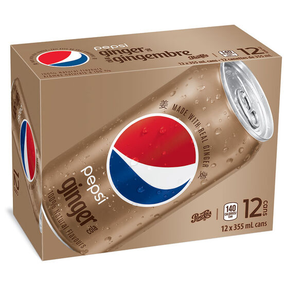 Pepsi Ginger Cola - 12 pack