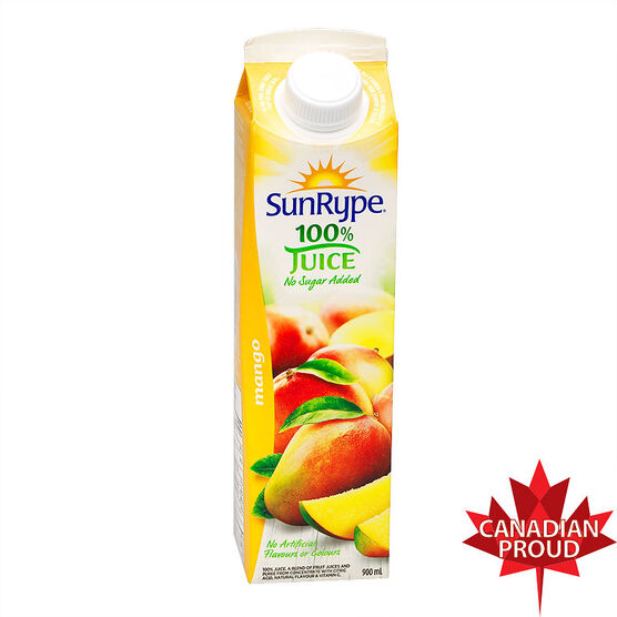 SunRype Fruit Juice - Mango - 900ml