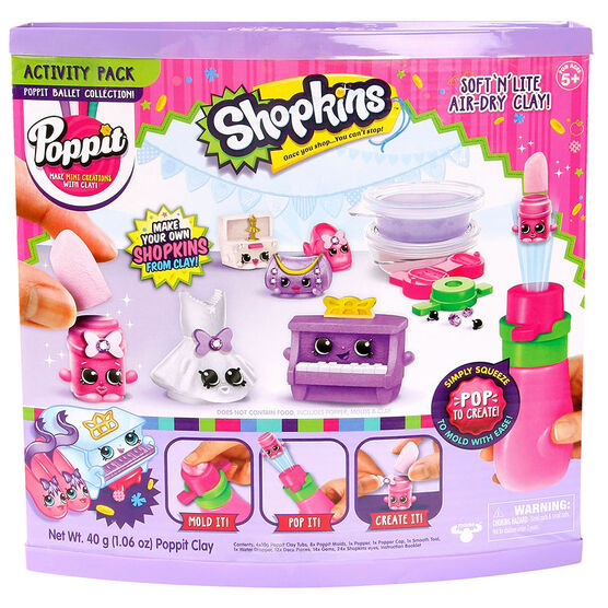 Shopkins Activity Pack - Ballet Collection