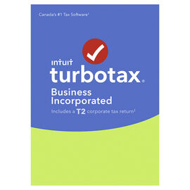 PRE ORDER: Intuit TurboTax Business Incorporated T2 - Years ending November 1, 2017 - October 31, 2018