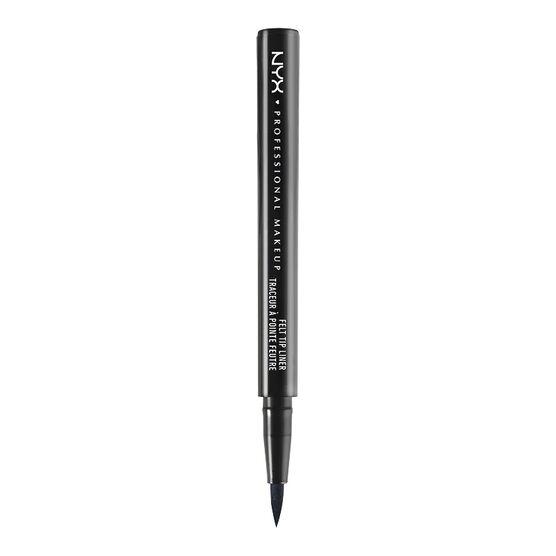 NYX Professional Makeup Felt Tip Eyeliner - Extreme Black