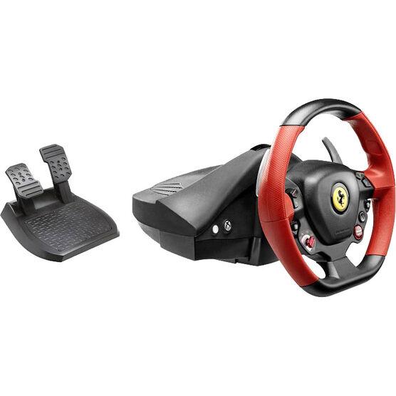 xbox one thrustmaster ferrari 458 spider racing wheel | london drugs