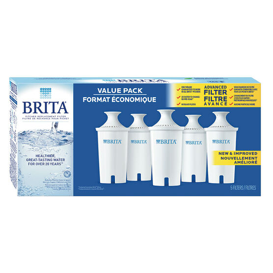 Brita Advanced Pitcher Filter - 5's