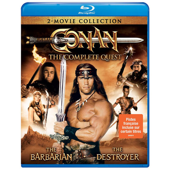 Conan: The Complete Quest - Blu-ray