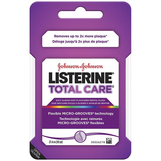 Listerine Floss Total Care -27.4m
