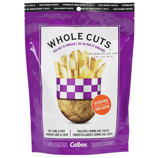 Calbee Whole Cuts - Sea Salt & Vinegar - 113g