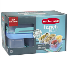 Rubbermaid LunchBlox LG Kit - 12 piece