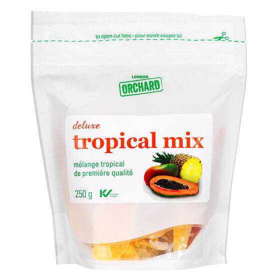 London Orchard Deluxe Dried Mix - Tree Fruit - 250g