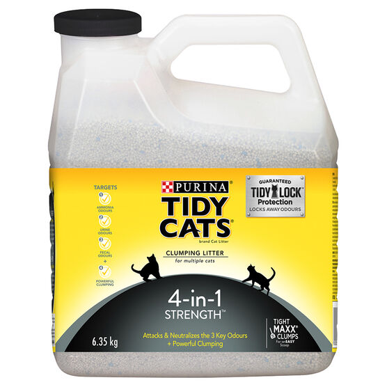 Tidy Cats 4-in-1 Strength - 6.35kg