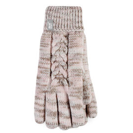 Heat Holders Ladies Gloves - Cream Fleck - Large