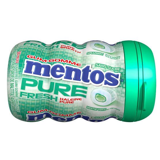 Mentos Pure Fresh Gum - Spearmint - 50's