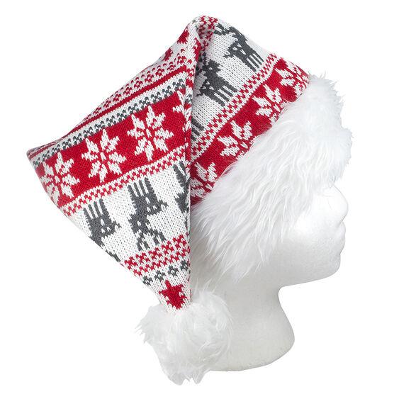 Christmas Knitted Santa Hat