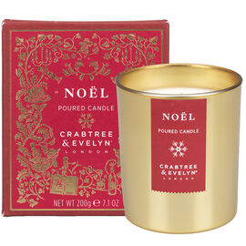 Crabtree & Evelyn Noel Poured Candle - 200g