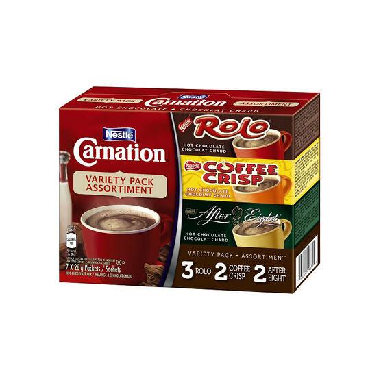 Nestle Carnation Variety Pack - 7 x 28g