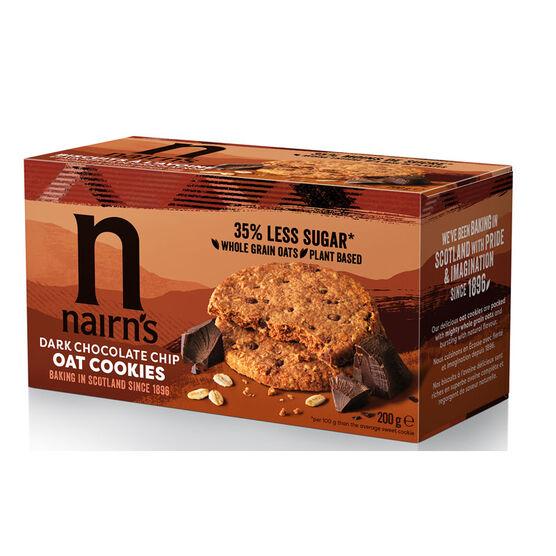 Nairn's Oat Cookies - Dark Chocolate Chip - 200g