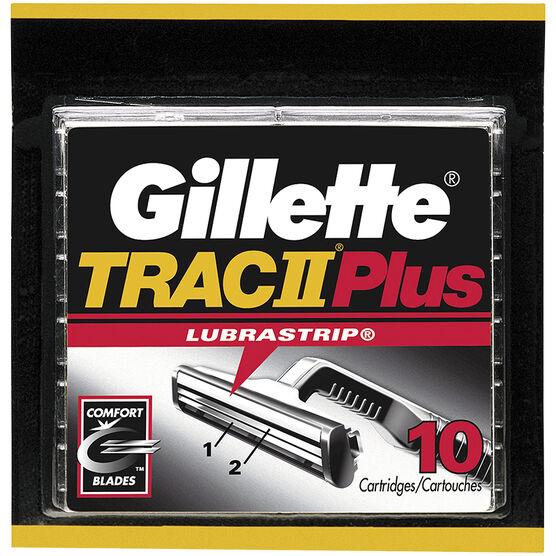 Gillette Trac II Plus Blades - 10's