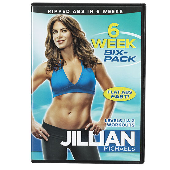Jillian Michaels: 6 Week Six-Pack - DVD