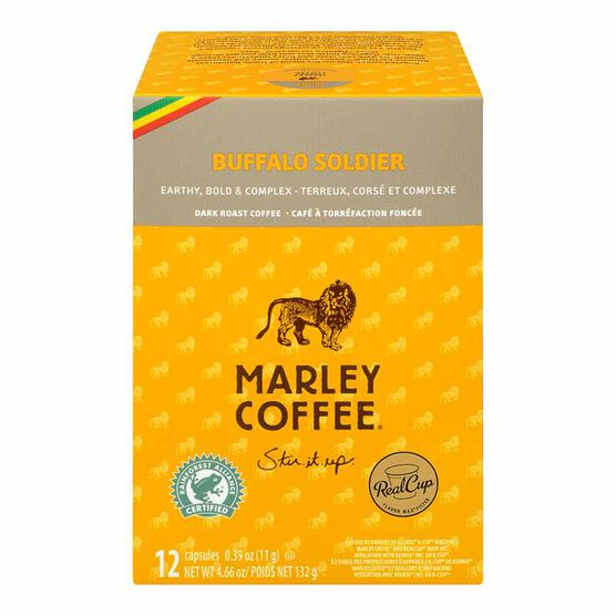 Marley's Single Serve Pods - Buffalo Soldier - 12 pack
