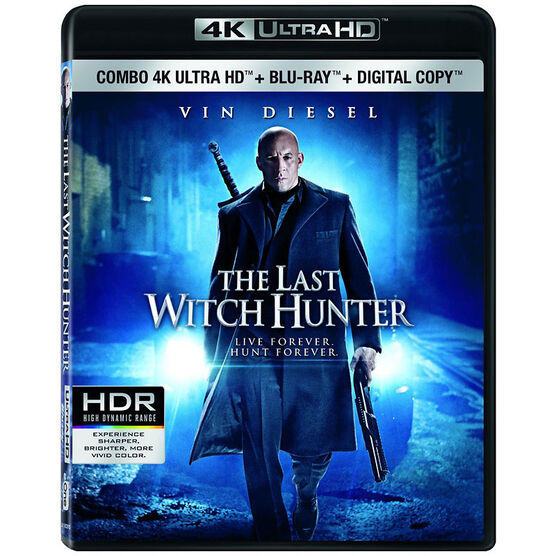 The Last Witch Hunter - 4K UHD Blu-ray